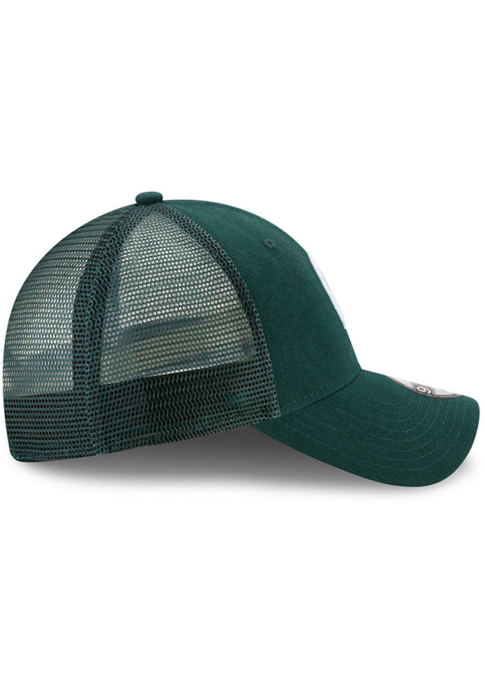 Michigan State Spartans Green Trucker Washed 9FORTY Youth Adjustable Hat - Image 6