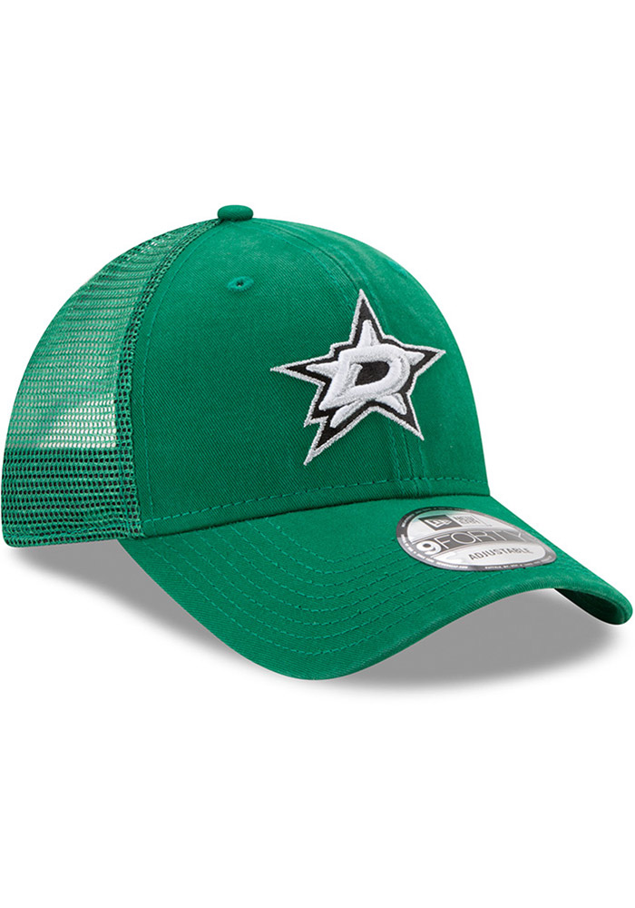 New Era Dallas Stars Trucker Washed 9FORTY Adjustable Hat - Green - Image 2