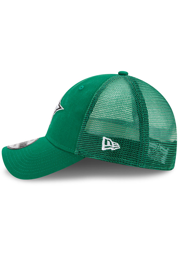 New Era Dallas Stars Trucker Washed 9FORTY Adjustable Hat - Green - Image 4