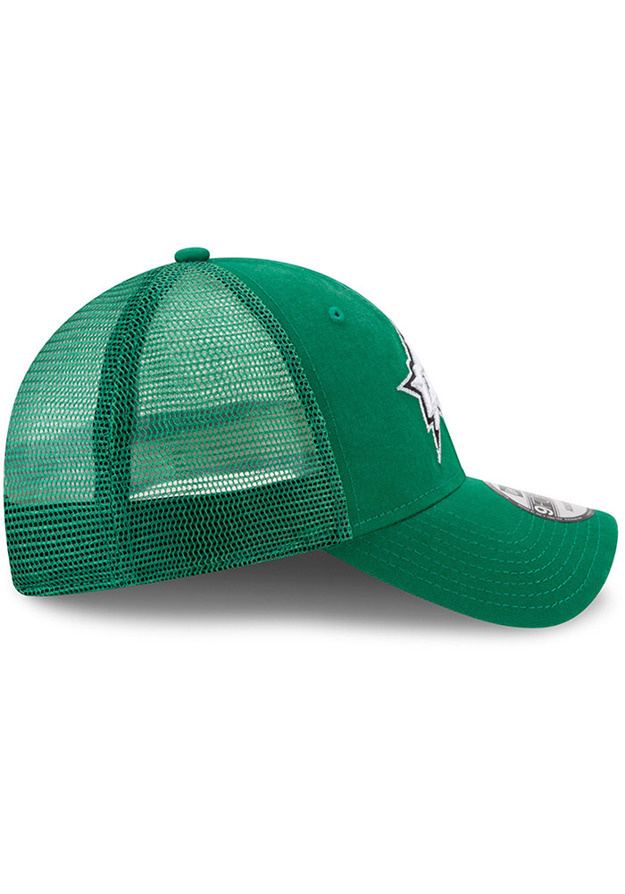New Era Dallas Stars Trucker Washed 9FORTY Adjustable Hat - Green - Image 6