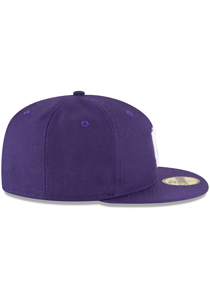New Era K-State Wildcats Mens Purple 59FIFTY Fitted Hat - Image 6
