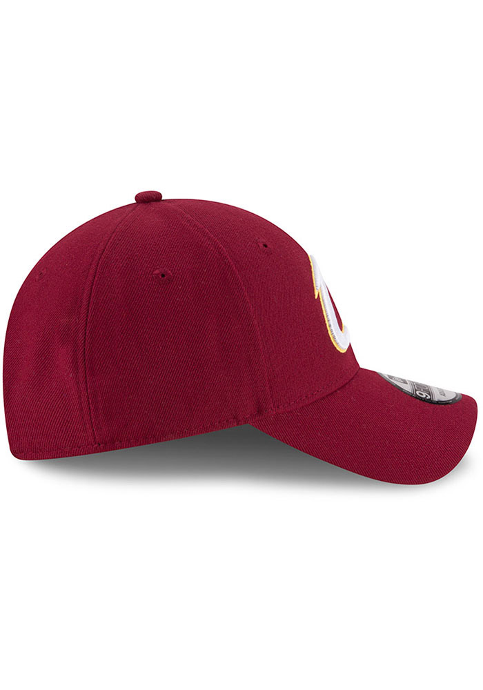 New Era Cleveland Cavaliers Mens Maroon The League 9FORTY Adjustable Hat - Image 6