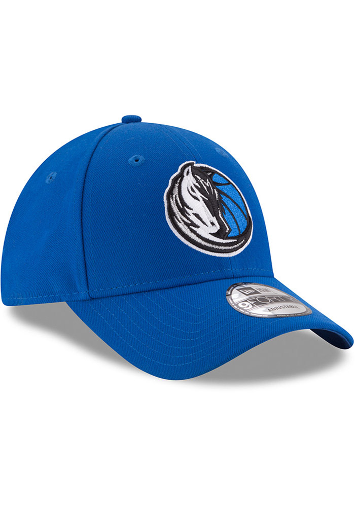 New Era Dallas Mavericks Mens Blue The League 9FORTY Adjustable Hat - Image 2
