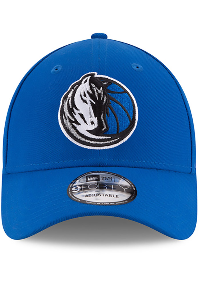 New Era Dallas Mavericks Mens Blue The League 9FORTY Adjustable Hat - Image 3