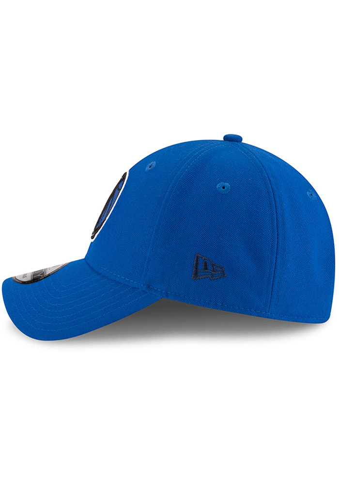 New Era Dallas Mavericks Mens Blue The League 9FORTY Adjustable Hat - Image 4