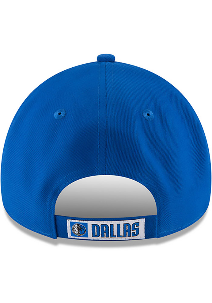 New Era Dallas Mavericks Mens Blue The League 9FORTY Adjustable Hat - Image 5