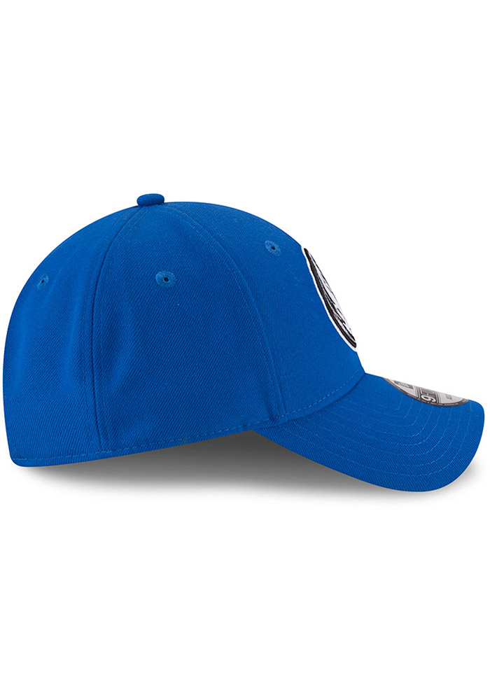 New Era Dallas Mavericks Mens Blue The League 9FORTY Adjustable Hat - Image 6