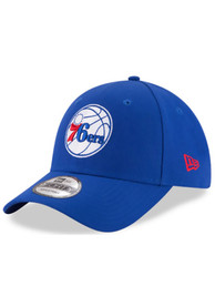 New Era Philadelphia 76ers The League 9FORTY Adjustable Hat - Blue