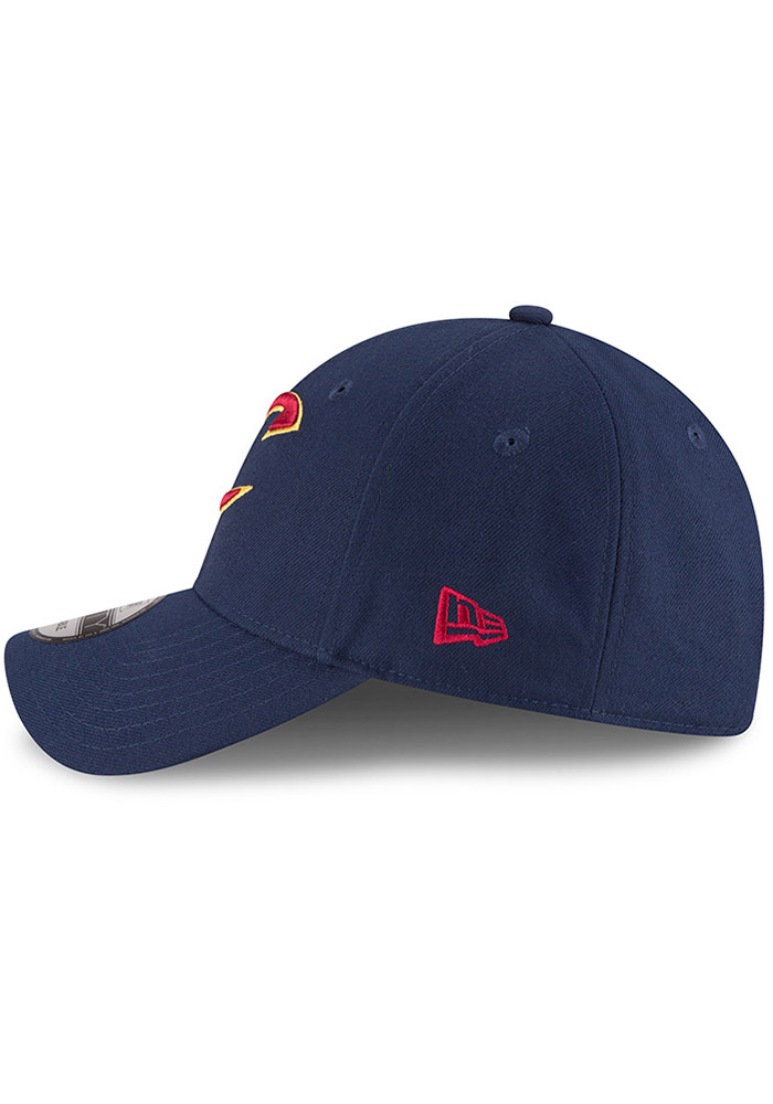 New Era Cleveland Cavaliers Mens Navy Blue The League 9FORTY Adjustable Hat - Image 4