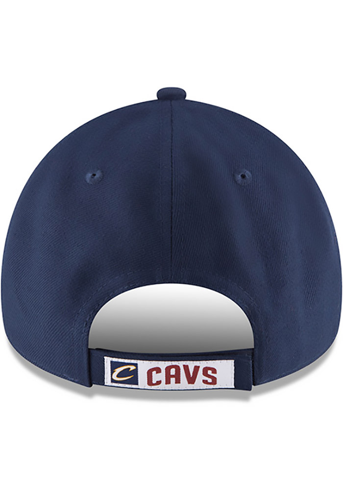 New Era Cleveland Cavaliers Mens Navy Blue The League 9FORTY Adjustable Hat - Image 5