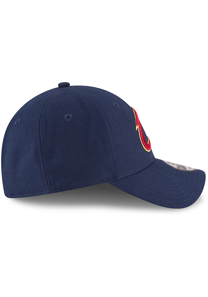 New Era Cleveland Cavaliers Mens Navy Blue The League 9FORTY Adjustable Hat - Image 6