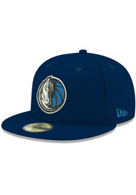 Dallas Mavericks New Era 59FIFTY Fitted Hat - Navy Blue