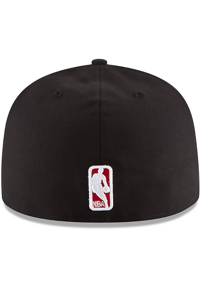 New Era Chicago Bulls Mens Black 59FIFTY Fitted Hat - Image 5
