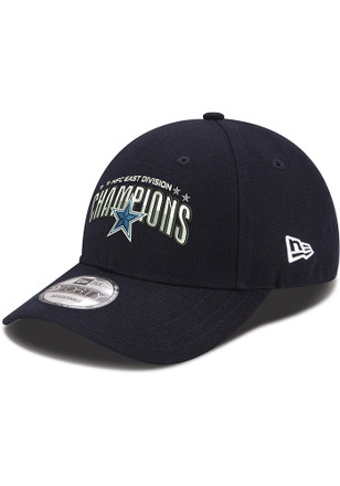 New Era Dallas Cowboys Mens Grey 2016 Div Champion 9FORTY Adjustable Hat