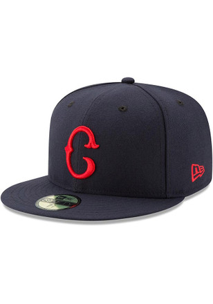 Cleveland Indians New Era Mens Navy Blue 2017 Turn Back the Clock 59FIFTY Fitted Hat
