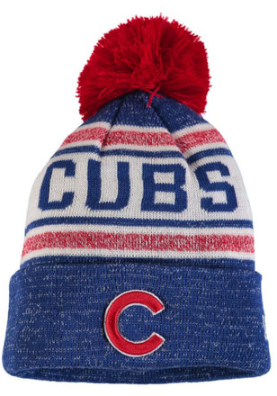 New Era Chicago Cubs Blue Toasty Cover Knit Hat