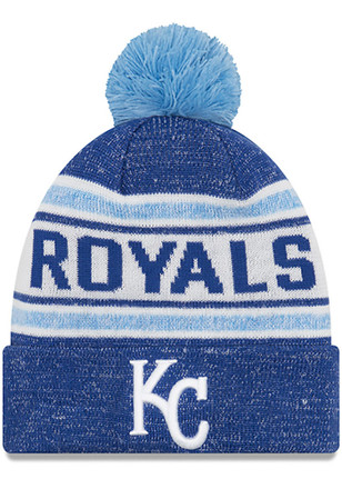 New Era Kansas City Royals Navy Blue Toasty Cover Knit Hat