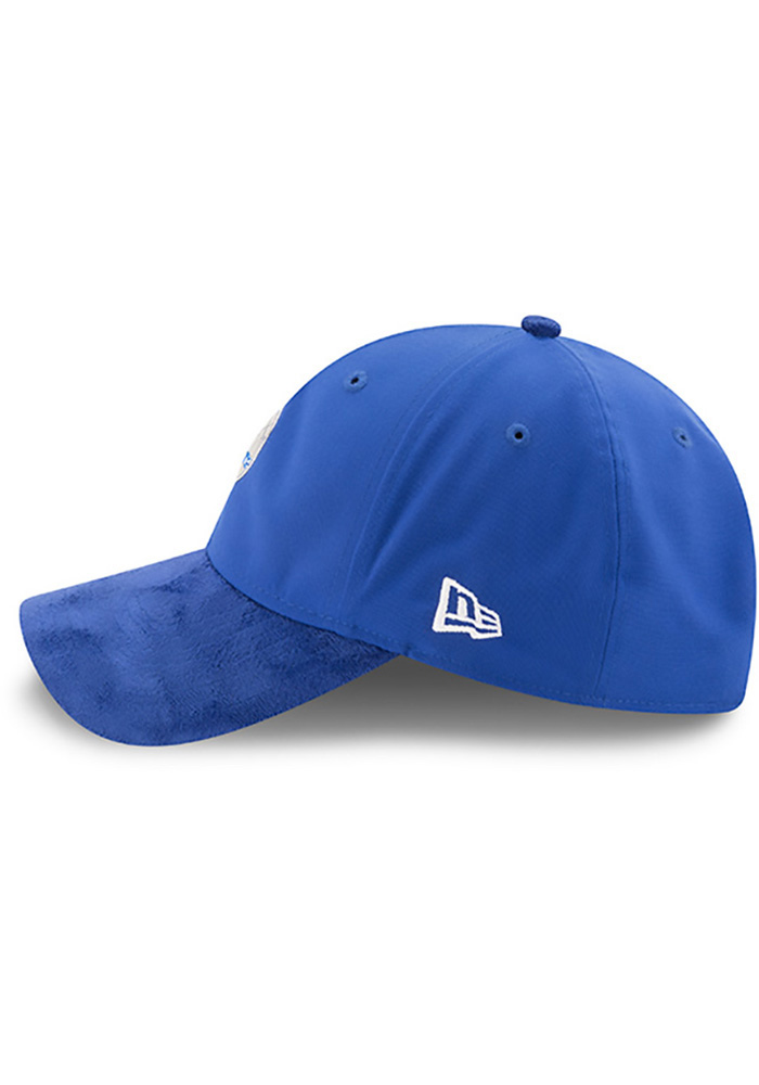 New Era Philadelphia 76ers Mens Blue NBA17 On Court Adjustable Hat - Image 4