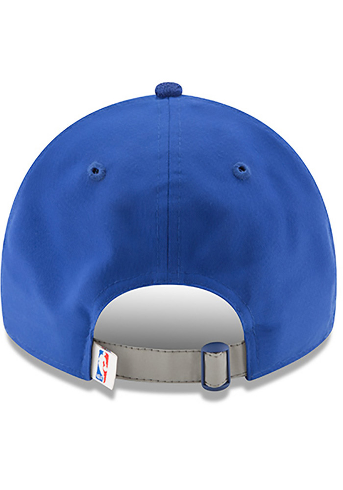 New Era Philadelphia 76ers Mens Blue NBA17 On Court Adjustable Hat - Image 5