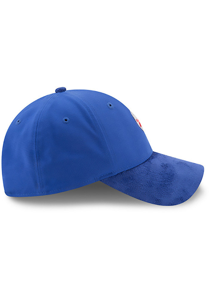 New Era Philadelphia 76ers Mens Blue NBA17 On Court Adjustable Hat - Image 6