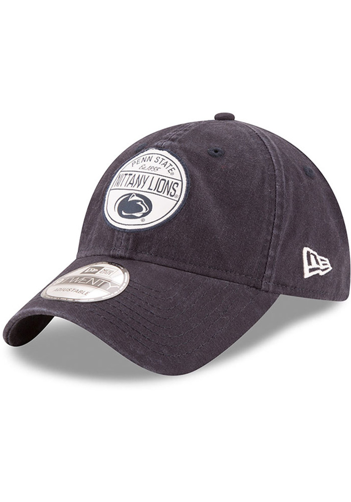 New Era Penn State Nittany Lions Core Standard Adjustable Hat - Navy Blue - Image 1