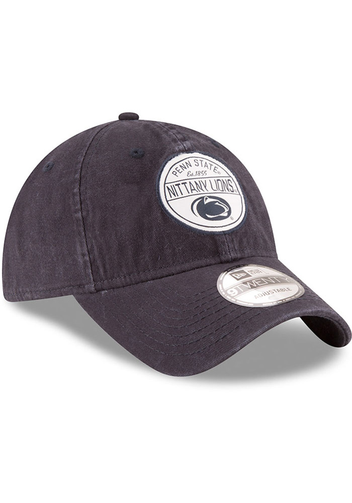 New Era Penn State Nittany Lions Core Standard Adjustable Hat - Navy Blue - Image 2