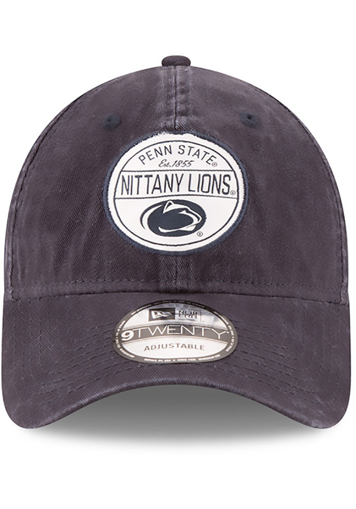 New Era Penn State Nittany Lions Core Standard Adjustable Hat - Navy Blue - Image 3