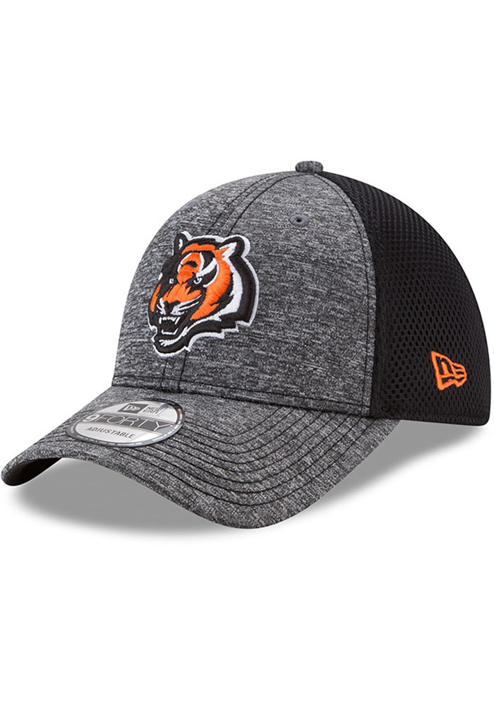 New Era Cincinnati Bengals Shadow Turn Adjustable Hat - Grey - Image 1