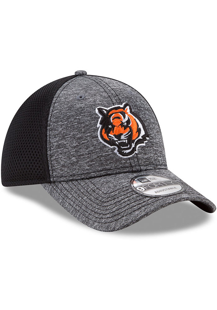New Era Cincinnati Bengals Shadow Turn Adjustable Hat - Grey - Image 2