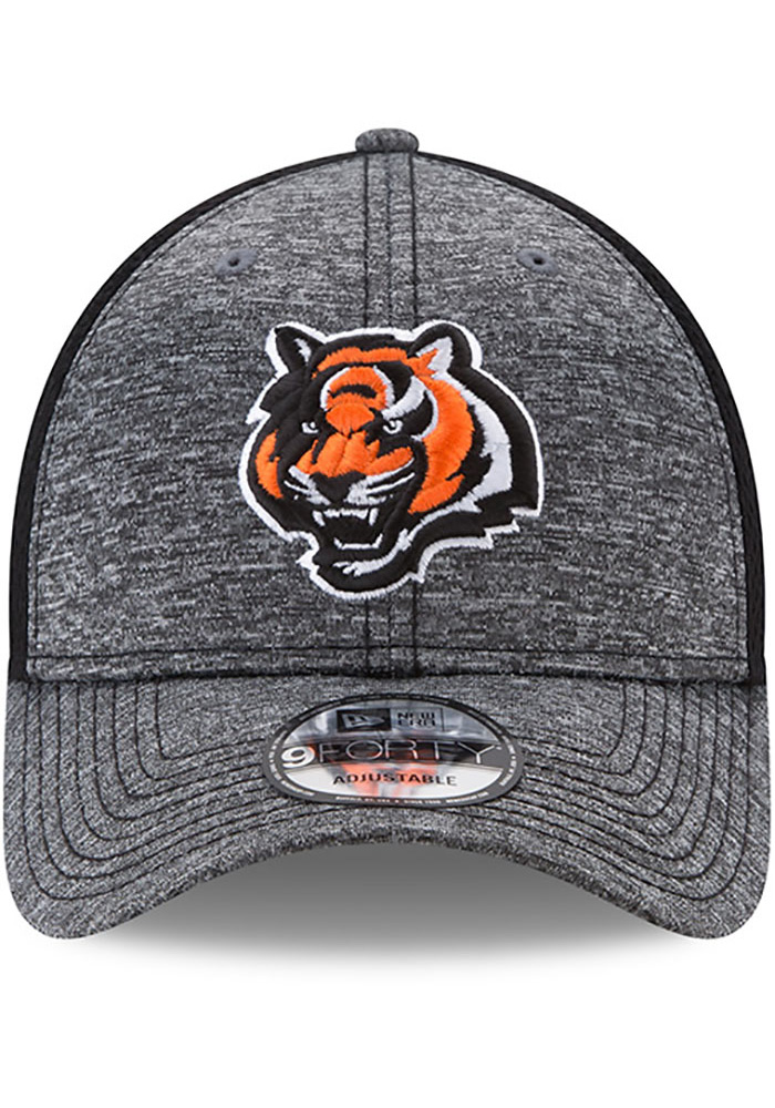 New Era Cincinnati Bengals Shadow Turn Adjustable Hat - Grey - Image 3