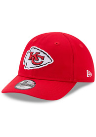 eac41570f27528 New Era Kansas City Chiefs Baby My 1st Adjustable Hat - Red
