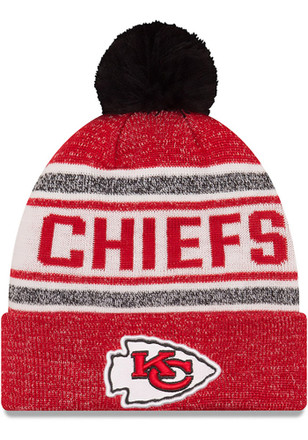 New Era Kansas City Chiefs Mens Red Toasty Cover Knit Hat