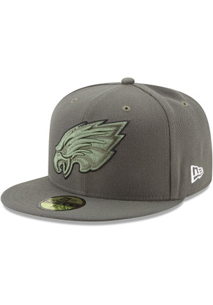 Philadelphia Eagles New Era Mens Midnight Green 2017 STS Fitted Hat