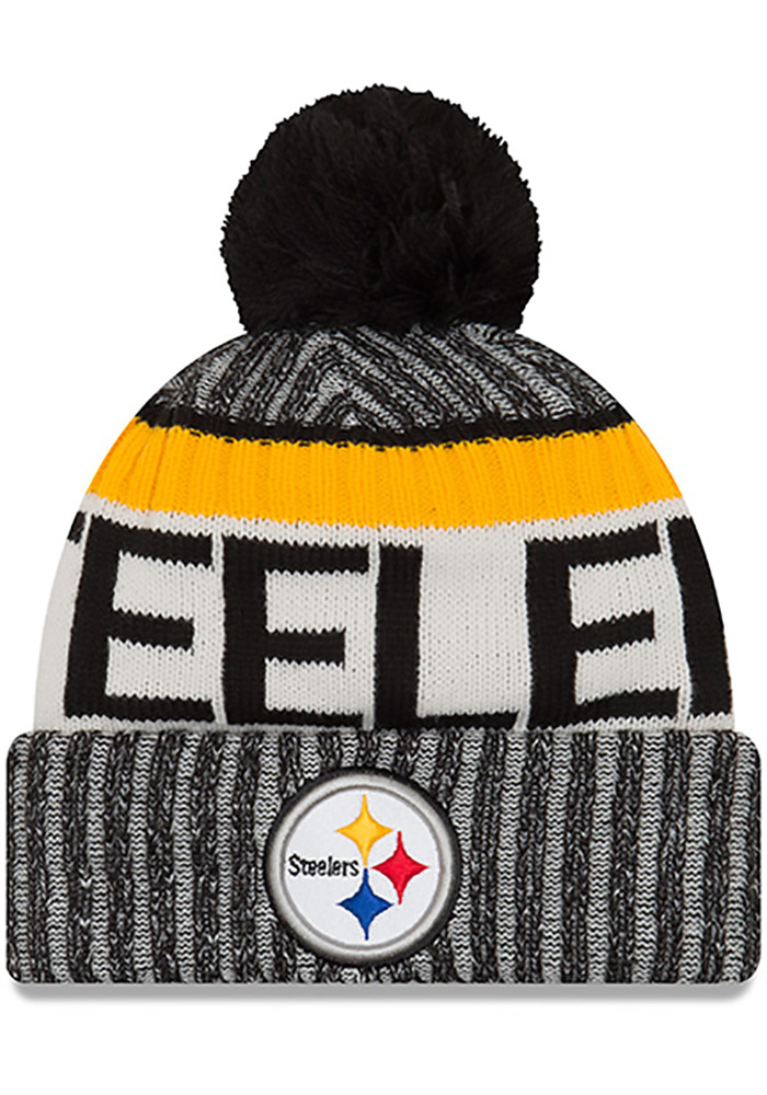 c83f8c99823b4 ... adult 2018 northwood cuff knit hat 93365 0a162  low price new era  pittsburgh steelers black 2017 official sport kids knit hat image 1 f9a0e