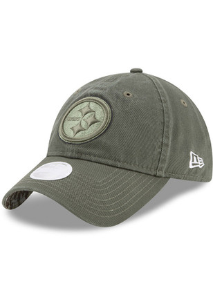 New Era Pittsburgh Steelers Womens Green 2017 STS Adjustable Hat