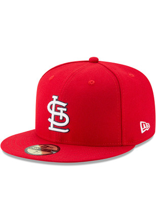St Louis Cardinals New Era Mens Red 1967 Patch AC 59FIFTY Fitted Hat