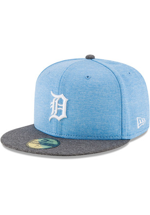 Detroit Tigers New Era Mens Grey 2017 Fathers Day AC 59FIFTY Fitted Hat