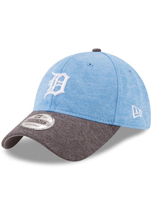 New Era Detroit Tigers Mens Grey 2017 Fathers Day 9TWENTY Adjustable Hat