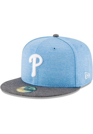Philadelphia Phillies New Era Mens Grey 2017 Fathers Day AC 59FIFTY Fitted Hat
