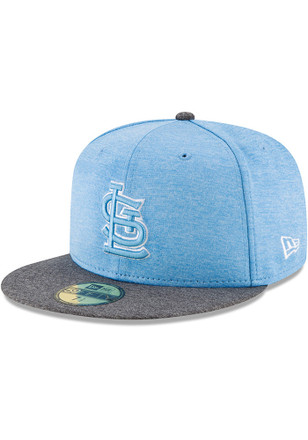 STL Cardinals New Era Mens Grey 2017 Fathers Day AC 59FIFTY Fitted Hat