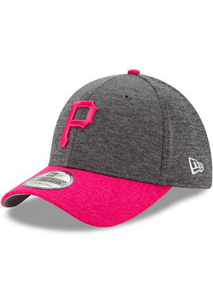 New Era Pittsburgh Pirates Mens Grey 2017 Mothers Day 39THIRTY Flex Hat