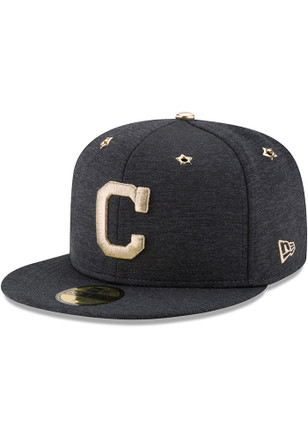 Cleveland Indians New Era Mens Navy Blue 2017 All Star Game AC 59FIFTY Fitted Hat