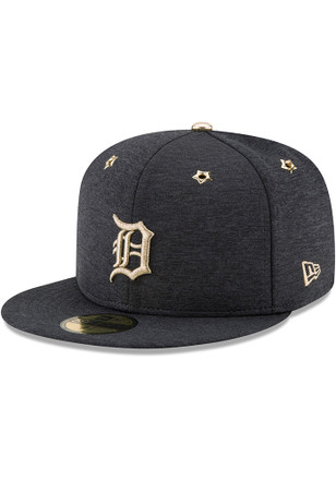 Detroit Tigers New Era Mens Navy Blue 2017 All Star Game AC 59FIFTY Fitted Hat
