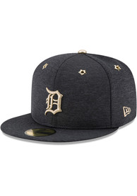 premium selection d5e89 b5aaf Detroit Tigers New Era Navy Blue 2017 All Star Game AC 59FIFTY Fitted Hat