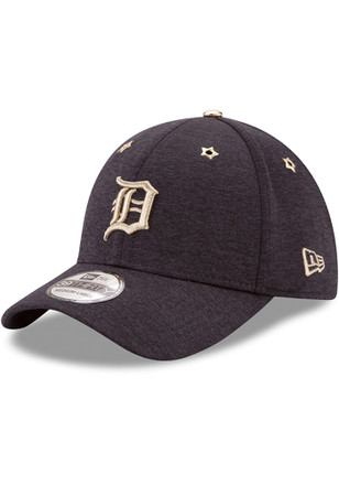New Era Detroit Tigers Mens Navy Blue 2017 All Star Game 39THIRTY Flex Hat