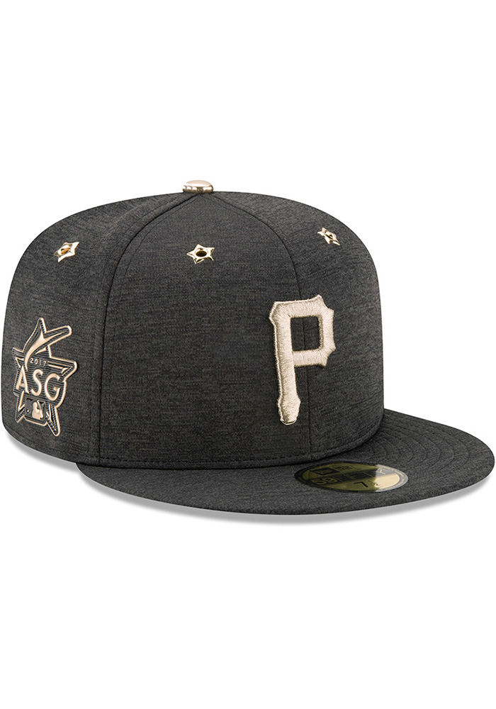 New Era Pittsburgh Pirates Mens Black 2017 All Star Game AC 59FIFTY Fitted Hat - Image 2