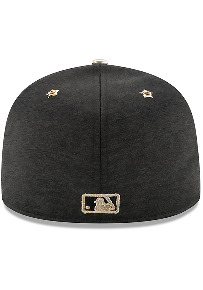 New Era Pittsburgh Pirates Mens Black 2017 All Star Game AC 59FIFTY Fitted Hat - Image 5