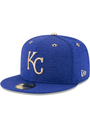 Kansas City Royals New Era Mens Blue 2017 All Star Game AC 59FIFTY Fitted Hat