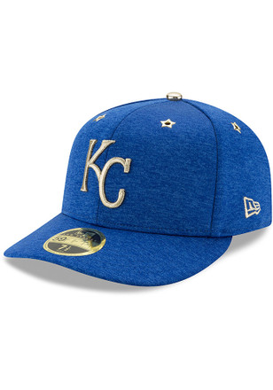 Kansas City Royals New Era Mens Blue 2017 All Star Game AC LC 59FIFTY Fitted Hat