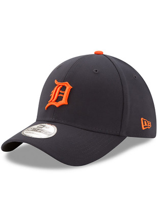 New Era Detroit Tigers Toddler Navy Blue Road Team Classic 39THIRTY Toddler Hat